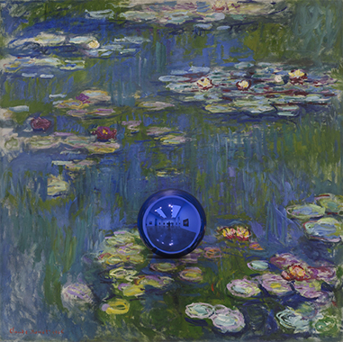 Gazing Ball (Monet Water Lilies)