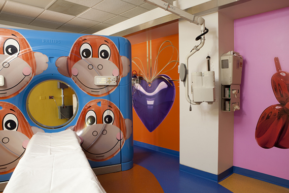 Monkey – RxArt CT Scanner by Jeff Koons (2010)