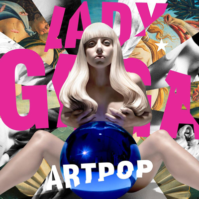 ARTPOP - Lady Gaga album cover designed by Jeff Koons (2013)