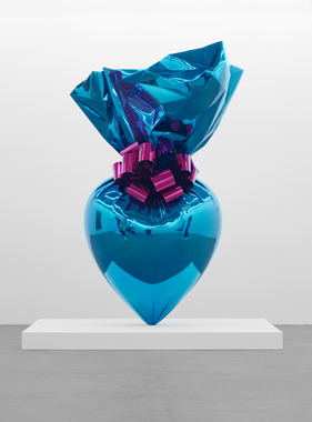 Sacred Heart (Blue/Magenta)