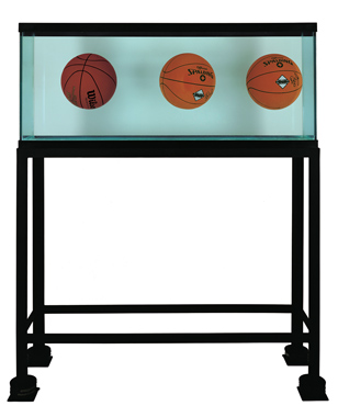Three Ball Total Equilibrium Tank (Two Dr. J Silver Series, Wilson Supershot), 1985