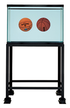 Two Ball Total Equilibrium Tank (Spalding Dr. J Silver Series, Wilson Aggressor)