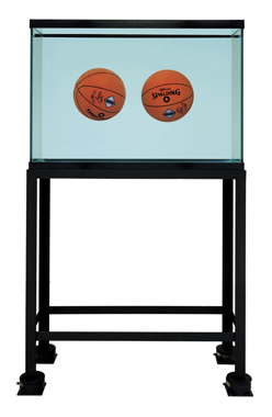 Two Ball Total Equilibrium Tank (Spalding Dr. J Silver Series), 1985