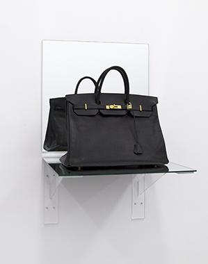Birkin Bag Black (Shelf) - Bag donated by Sofia Coppola