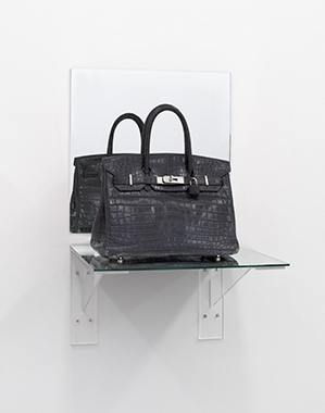 Birkin Bag Midnight Blue Croc (Shelf) - Bag donated by Deena Aljuhani Abdulaziz