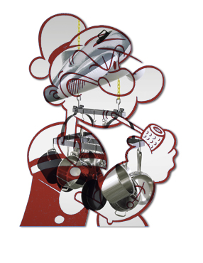 Popeye (Red)