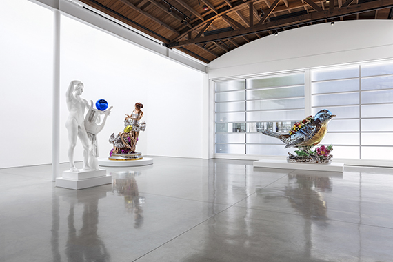 Jeff Koons, Gagosian Gallery, Beverly Hills, 2017