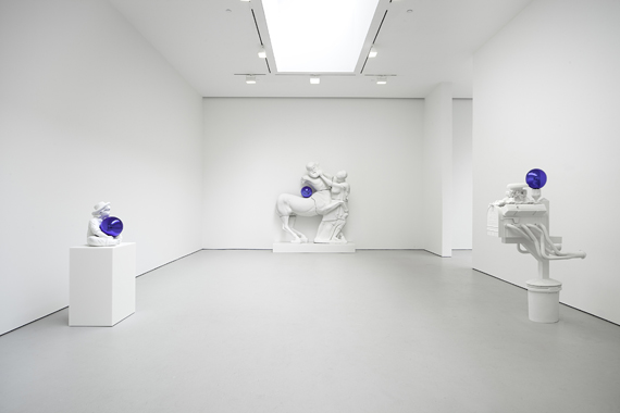 Jeff Koons: Gazing Ball, David Zwirner Gallery, New York, 2013.
