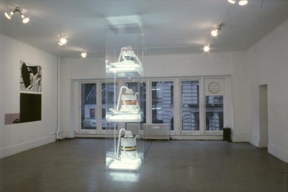 Jeff Koons. Los Angeles - New York Exchange, Artist's Space, New York, 1983.