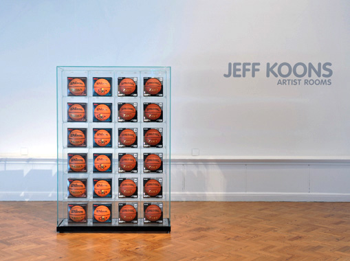 ARTIST ROOMS: Jeff Koons, Staatsgalerie Stuttgart, Brighton Museum and Gallery, 2013.
