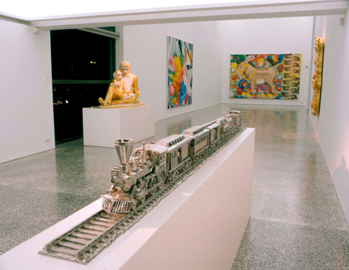 Jeff Koons: A Millennium Celebration, Deste Foundation, Athens, Greece, 1999-2000.