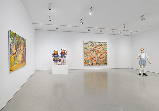 Cecily Brown, Jeff Koons, Charles Ray: FLAG Art Foundation, New York