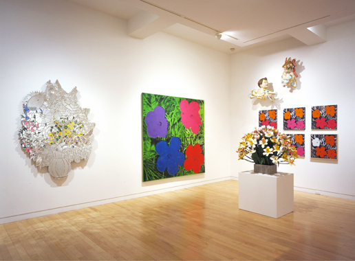 Jeff Koons / Andy Warhol: Flowers, Gagosian Gallery, New York, 2002.