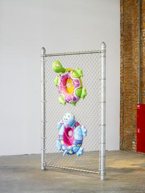 Chainlink by Jeff Koons. Un Certain Etat de Monde?, Garage Center for Contemporary Culture, 2009.