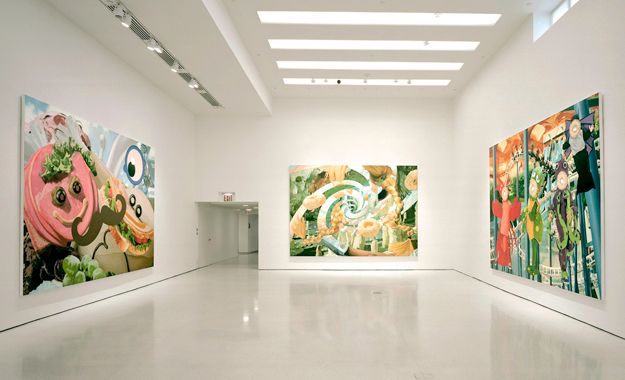 Jeff Koons. Easyfun-Ethereal, Guggenheim Museum, New York, 2002.