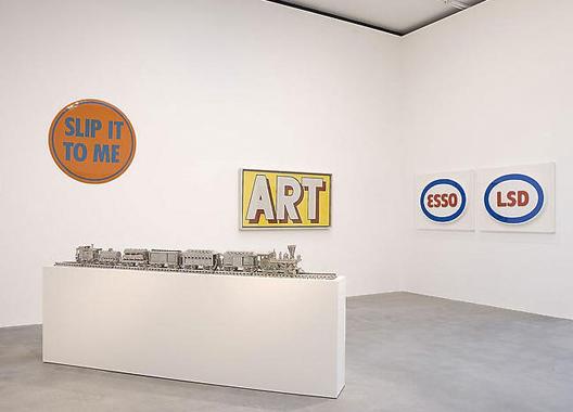 Jim Beam - J.B. Turner Train by Jeff Koons. Pop Art Is..., Gagosian Gallery, London, 2007.