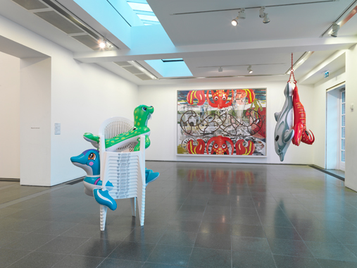 Jeff Koons: Popeye Series, Serpentine Gallery, London, 2009.