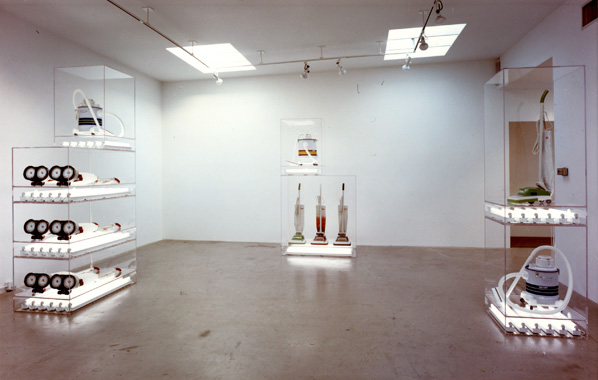 Jeff Koons. The New: Encased Works, Daniel Weinberg Gallery, Los Angeles, 1987.