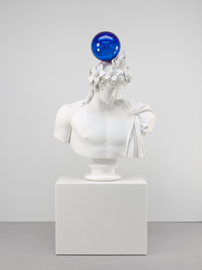 Gazing Ball (Antinous-Dionysus)