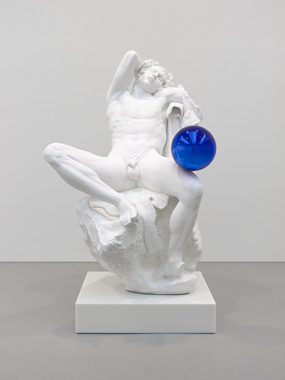Gazing Ball (Barberini Faun)