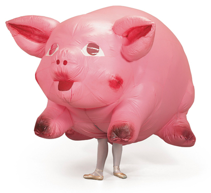 Inflatable Pig Costume – Designed for Armitage Ballet by Jeff Koons (1988-89)