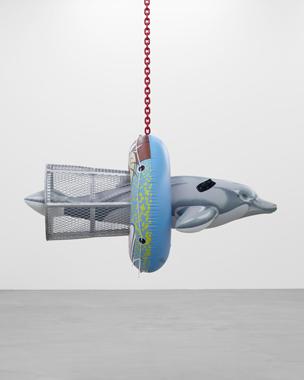Dolphin Taz Trashcan