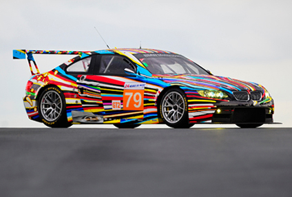 The 17th BMW Art Car by Jeff Koons (2010)