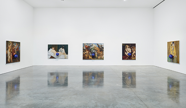 Jeff Koons: Gazing Ball Paintings. Gagosian Gallery, New York, 2015