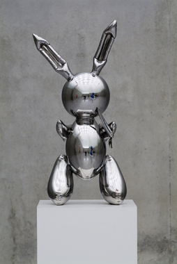 Rabbit by Jeff Koons. Re-Object, Kunsthaus Bregenz, 2007.