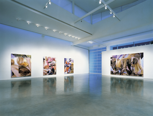 New Paintings. Gagosian Gallery, Los Angeles, California [March 22 - May 12, 2001]