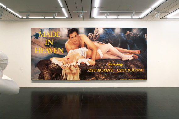 Made In Heaven by Jeff Koons. Pop Life - Warhol, Haring, Koons, Hirst..., Hamburger Kunsthalle, 2009-2012.