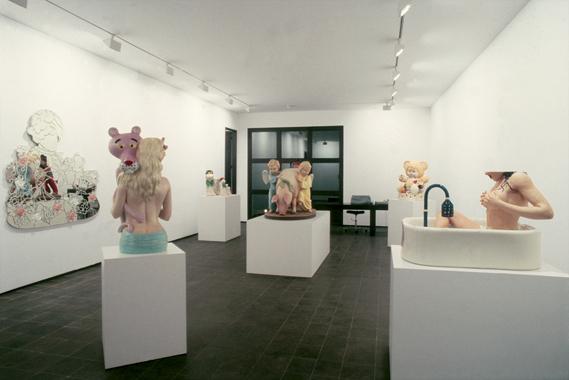 Jeff Koons. Banality, Galerie Max Hetzler, Cologne, Germany, 1988.