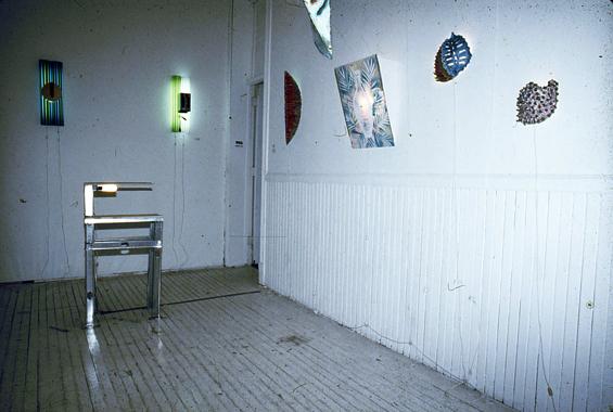 Jeff Koons. Lighting, P.S.1, Long Island City, New York, 1981.