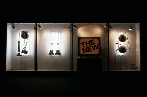 Jeff Koons. The New (A Window Installation), The New Museum of Contemporary Art, New York, 1980.