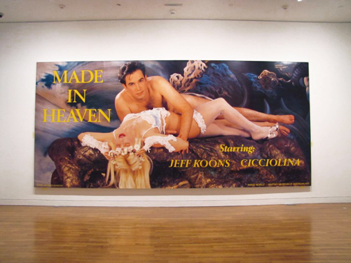 Made In Heaven by Jeff Koons. Pop Life - Art in a Material World, National Gallery of Canada, 2010.