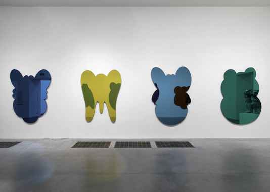 Easyfun Mirrors by Jeff Koons. Pop Life - Art in a Material World, Tate Modern, 2009-2010.