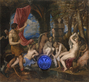 Gazing Ball (Titian Diana and Actaeon)