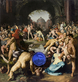 Gazing Ball (van Haarlem Massacre of the Innocents)