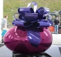 Smooth Egg with Bow (Magenta/Violet)