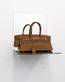Birkin Bag Brown (Shelf) - Bag donated by Reem Beljafla