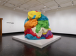 Play-Doh by Jeff Koons. Plato Contemporary: Artists' Visions, Getty Villa, Los Angeles, 2018